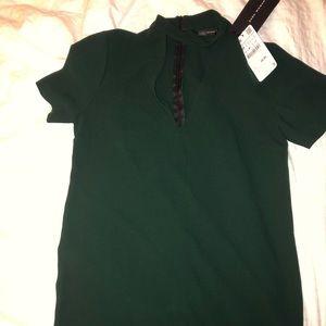 brand new tagged zara women's mini dress